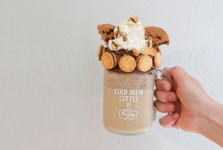 suklaa-cookie pirtelö Frezza lattesta